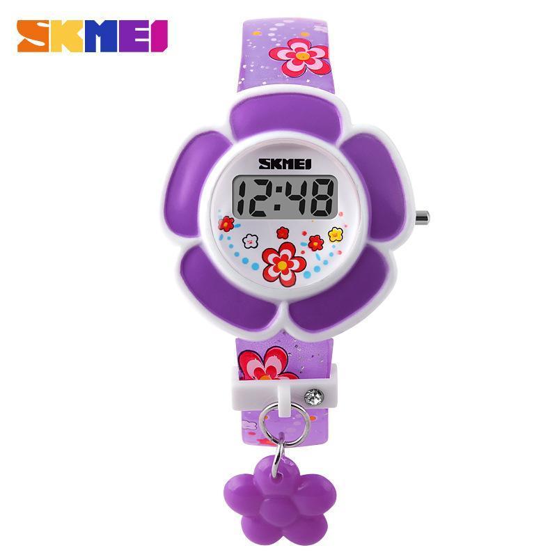(Cập nhật 2019)Đồng hồ điện tử cho bé gái Skmei 1144 siêu đáng yêu bán chạy