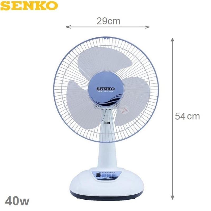 Quạt bàn Senko B1216 sải cánh 29cm