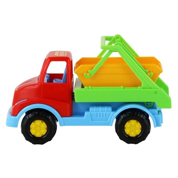 Xe Môi Trường Leon - Polesie Toys 52896 - Mẫu 2 - Đầu Xe Màu Đỏ