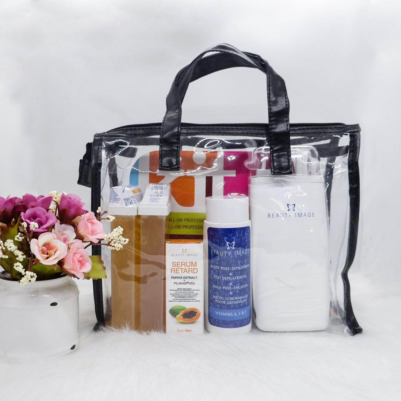 Bộ dụng cụ lăn triệt lông Beauty Image Professional Wax Roll On Kit tốt nhất