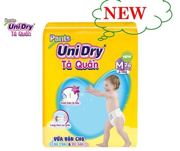 Tã quần Unidry M74 cho bé 6-11kg