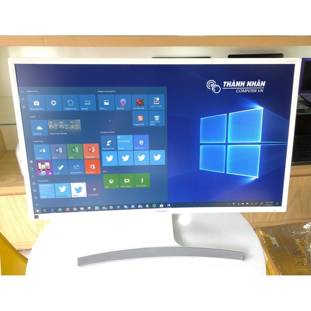 Màn hình Samsung 27 inch LS27E591C Curved LED Cong / FullHD 1920 x 1080 60Hz / Có loa ngoài / Trắng ngọc trai