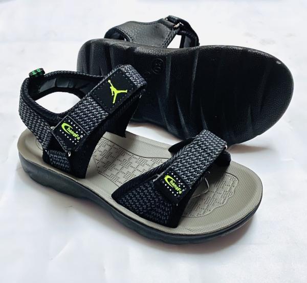 [HCM]Giày sandal bé trai siêu bền - dép sandal nam bé trai đồng phục đi học siêu bền