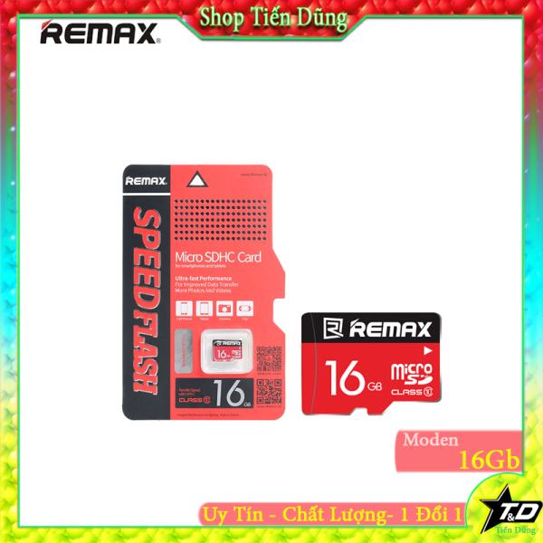 Thẻ nhớ Micro SD 16gb remax Classs10 dùng cho các camera máy ảnh , máy ghi âm, loa , đài