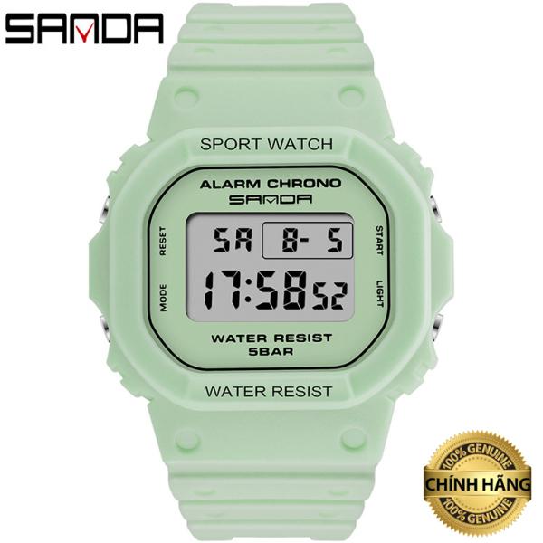 Đồng hồ Nữ thể thao SANDA DESI, Thương hiệu Cao Cấp Của Nhật, Chống Nước Tốt - Đồng hồ nữ thể thao, Đồng hồ nữ chống nước, Đẹp,Sang trọng,Đẳng cấp, Bền, Giá Sốc, Đồng hồ nữ giá rẻ, Đồng hồ nữ thời trang bán chạy