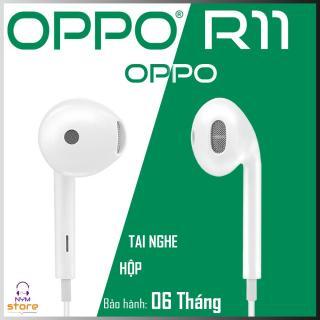 [Fullbox] Tai nghe Oppo R11 - tai nghe nhe t tai Oppo r11 tră ng co ba o ha nh 100% thumbnail