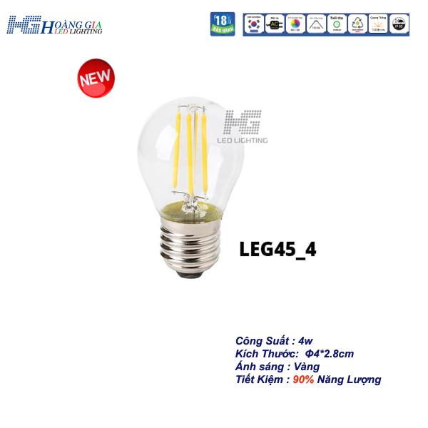 Đèn LED Trang Trí Edison G45 4W