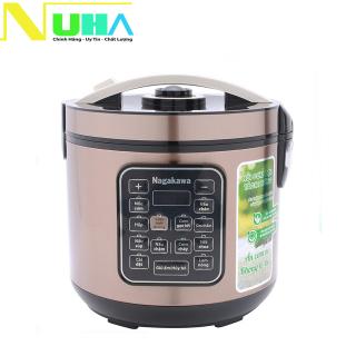 Nồi cơm điện tách đường Nagakawa NAG0120 dung tích 1.8L, ngừa bệnh chống béo phì thumbnail