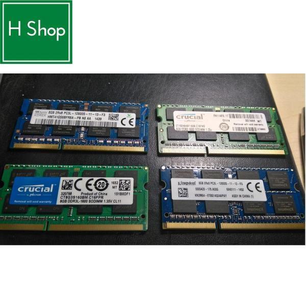 Bảng giá Laptop Memory RAM 8GB DDR3 1600 MHz PC3L-12800 SODIMM 204 pin Unbuffered Phong Vũ