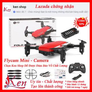 [CÓ VIDEO THỰC TẾ] flycam giá rẻ mini có camera Máy bay camera 4k flycam mini giá rẻ điều khiển từ xa quay phim, chụp ảnh, chống rung quang học kết nối wifi có tay cầm điều khiển thumbnail