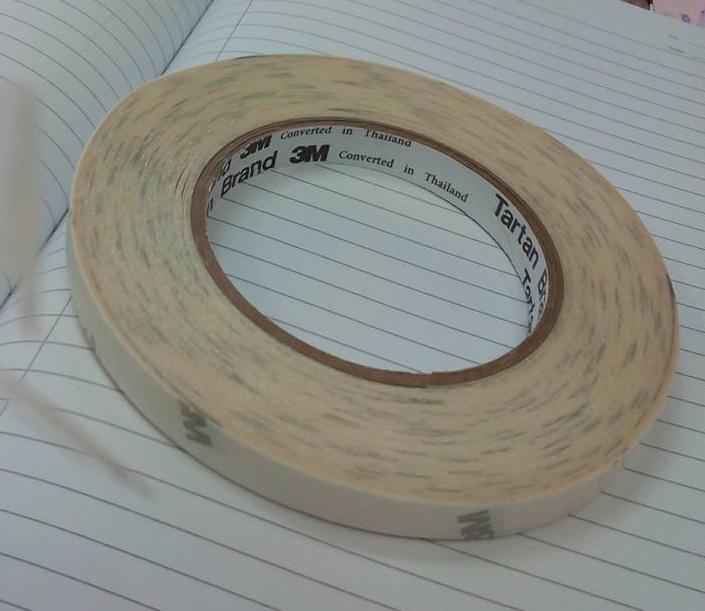 Mua Băng keo 2 mặt 3m 9116 dán nhựa và giấy, keo dày 0.11mm ( 12mm x 50m)