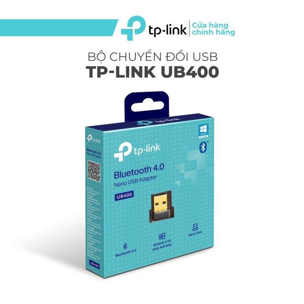 Bảng giá Bộ Chuyển Đổi Bluetooth TP-Link UB400 USB Nano Bluetooth 4.0 - Adapter Bluetooth tiết kiệm năng lượng (BLE) - Kích thước Nano - Bảo hành chính hãng 24 tháng Phong Vũ