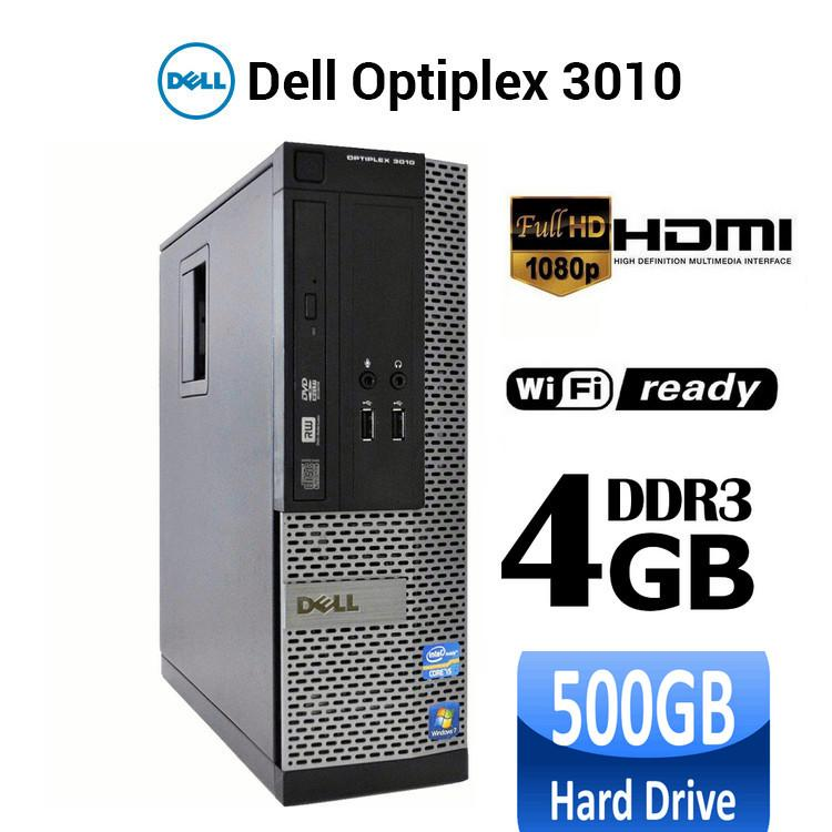 Case Máy Tính DELL Optiplex 3010 Intel G1610, Ram 4GB, ổ Cứng 500GB, HDMI, DVD. Tặng Usb Thu Wifi. Hàng Nhập Khẩu. Giá Siêu Cạnh Tranh