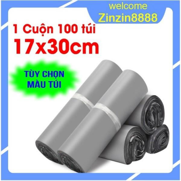 [17x30cm] 100 Túi Gói Hàng, Đóng Hàng, Niêm Phong, Bao Bì Gói Hàng Tự Dính