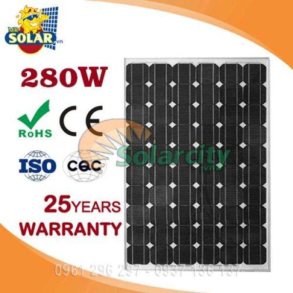 Pin năng lượng mặt trời 280w mono