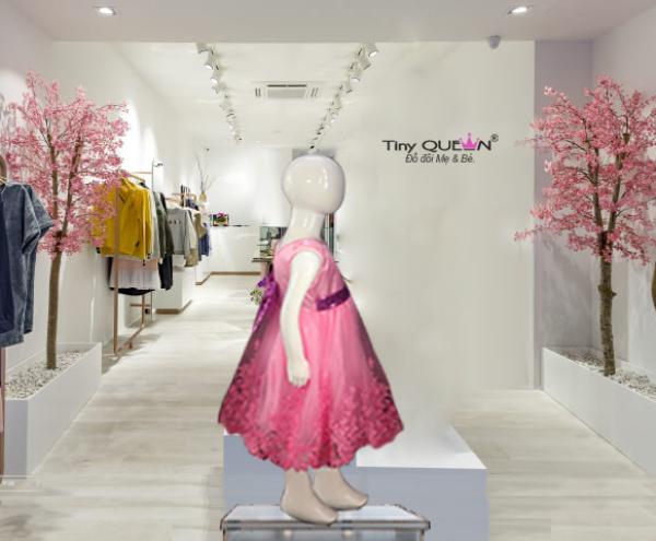 Giá bán Đầm bé gái dự tiệc  xuất Mỹ, Úc, Canada, Đức