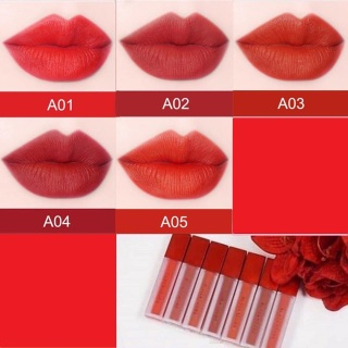 Son môi kem lì dưỡng mối cao cấp, không trôi, mềm, mẫu mới nhất siêu xinh siêu sang chanh đỏ dâu, đỏ cánh hồng, đỏ cam, đỏ cam trầm, đỏ cam ấm- Thịnh Tửng Store thumbnail