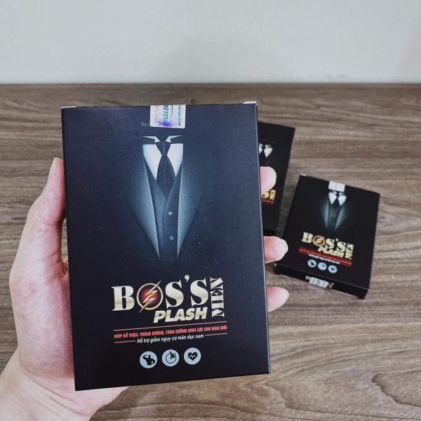 Boss Plash Viên Uống Tăng Cường Sinh Lý Boss Plash Kéo Dài Thời Gian Quan Hệ Giúp Cuộc Yêu Thăng Hoa giá rẻ