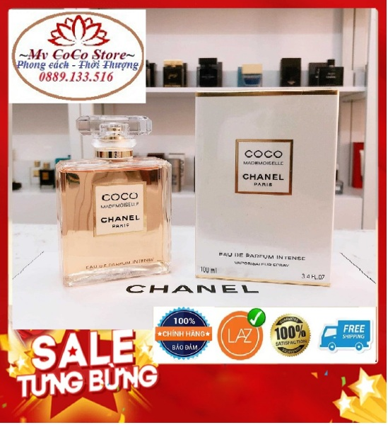 Nước Hoa Nữ Chanel Coco Mademoiselle EDP 100ml  Bao Test