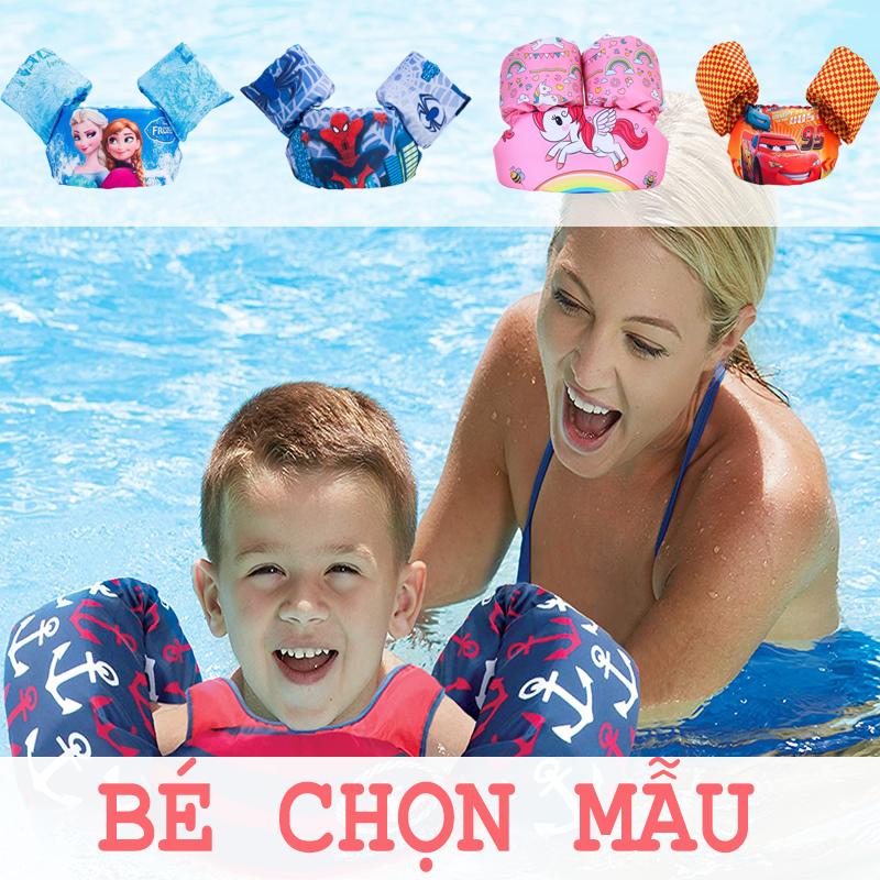 Áo Phao Bơi Trẻ Em ,Áo Phao Nâng Đỡ Ngực Kèm Phao Tay Cho Bé Giá Sốc Nên Mua