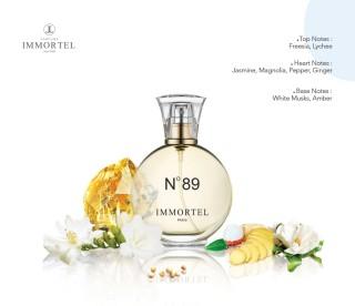 Nước hoa nữ IMMORTEL No89 Chai xịt 60ml EDP thumbnail