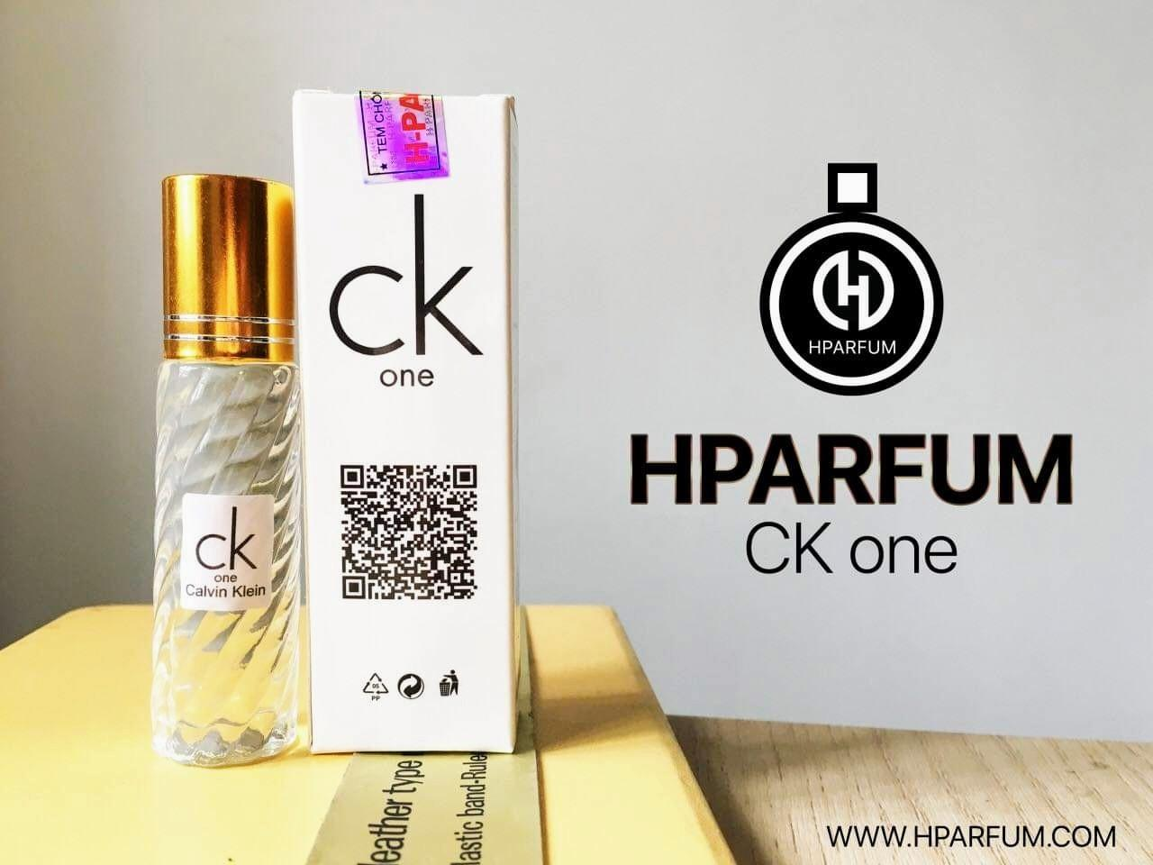 CK One Calvin Klein Tinh dầu thơm từ Pháp Hparfum (Mùi nam)calvin