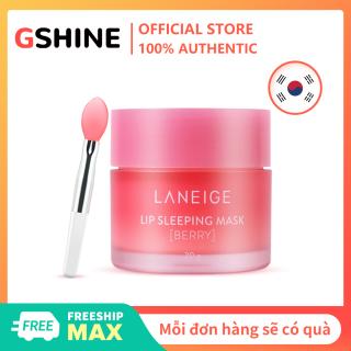 [Hàng quốc tế Lưu ý thời gian giao hàng dự kiến]Mặt nạ môi Lange chính hãng của Hàn Quốc 20g Dưỡng ẩm giữ ẩm ban đêm Sleep Repair Pure Freezing Lip Wrinkle Lipstick thumbnail