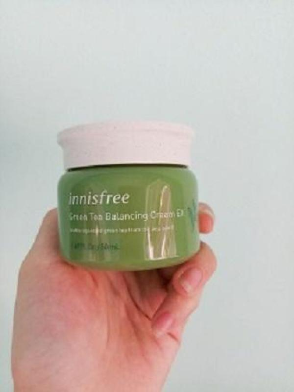 [New 2019] Kem Dưỡng Da Trà Xanh Green Tea Balancing Cream EX 50ml