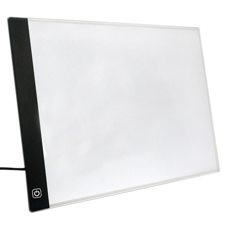 Mua Led Lighted Drawing Board Ultra A4 Drawing Table Tablet Light Pad Sketch Book Blank Canvas For Painting Acrylic Watercolor Paint