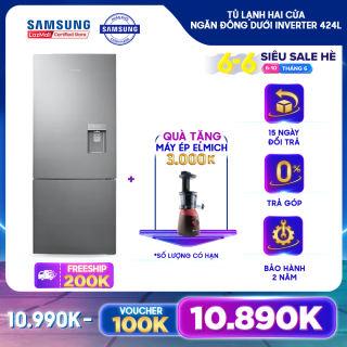 Tủ lạnh hai cửa Ngăn Đông Dưới Samsung Inverter 424L - RL4034SBAS8 - REF