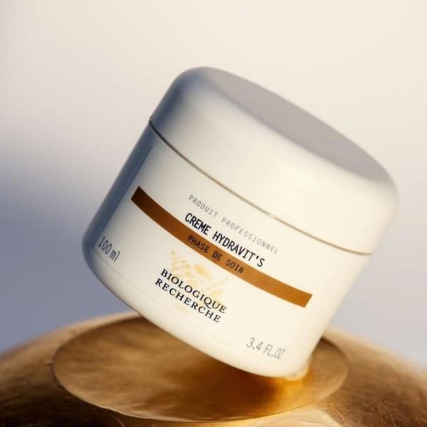 [Lấy mã giảm thêm 30%] Kem dưỡng bổ sung độ ẩm chuyên sâu và làm sáng da tối xỉn màu Creme Hydravits Biologique Recherche nhập khẩu