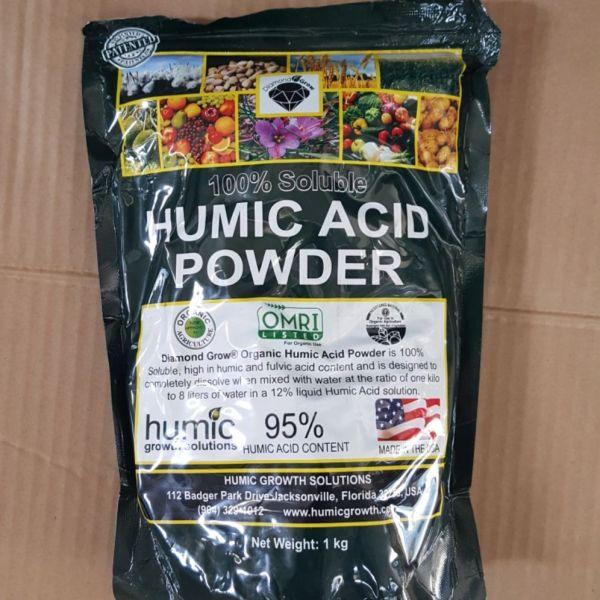Humic acid powder nguyên liệu Mỹ