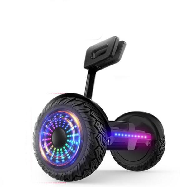 Xe điện cân bằng Mini Robot - BẢN MỚI Có Bluetooth, đèn led, tay xách thuận tiện, kết nối app điện thoại