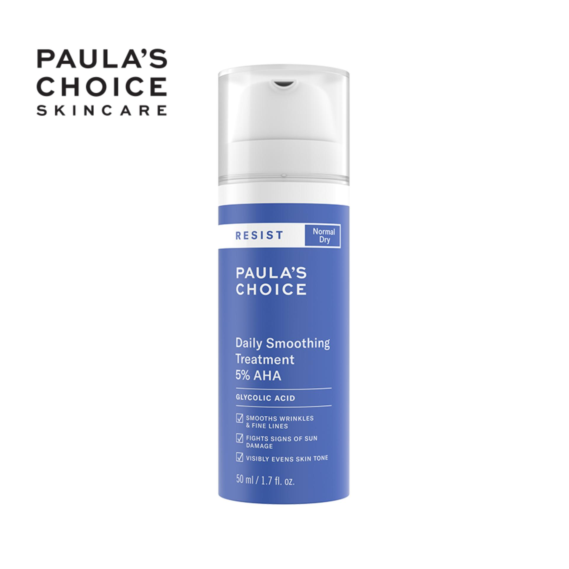 Dung dịch làm mềm da Paula's Choice RESIST Daily Smoothing Treatment With 5% AHA 50 ml