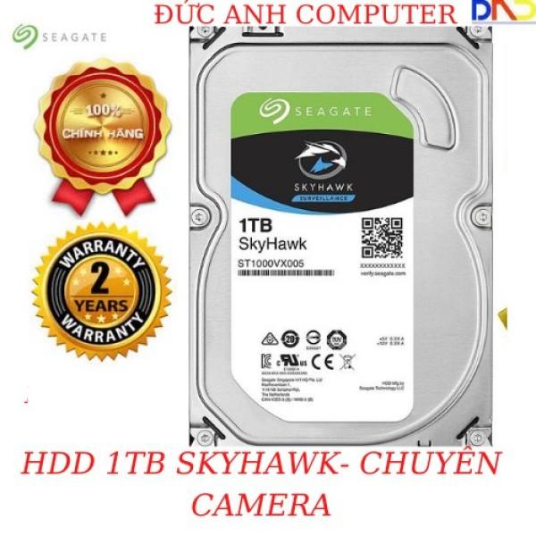 Bảng giá Ổ Cứng 1TB SEAGATE SKYHAWK 3.5 SATA 3 -- Chuyên Camera-FPT / VIỄN SỚN Phân Phối 7200 prm 64Mb cache- TẶNG CÁP SATA3 ZIN Phong Vũ
