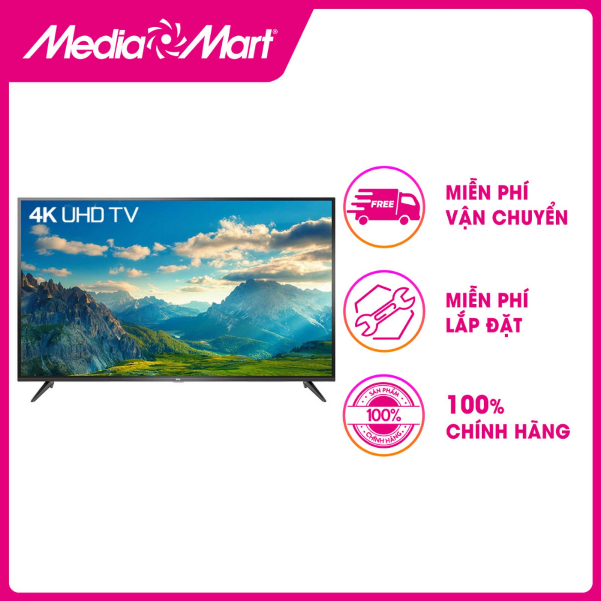 Bảng giá TV LED SMART ULTRA HD 65  TCL 65P65-UF