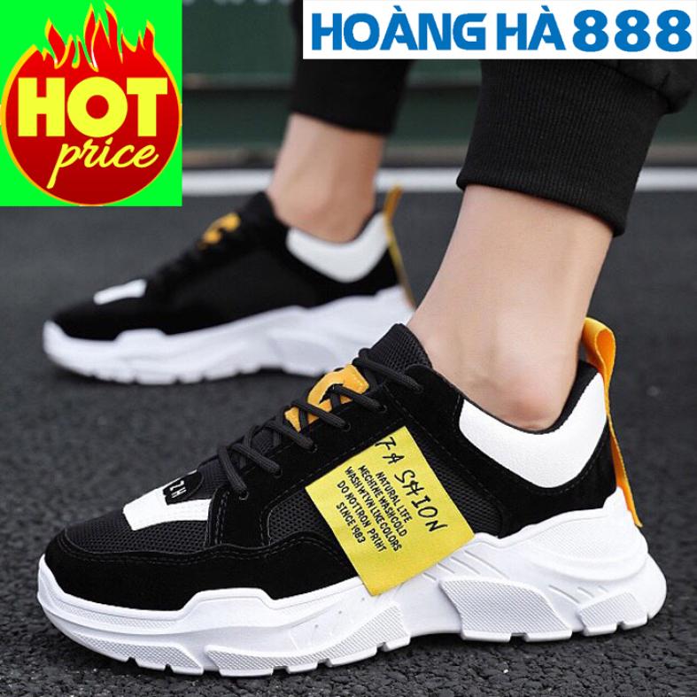 Giày thể thao nam Phong Cách Hàn Quốc tăng 5cm chiều cao cực kì ngầu giá rẻ