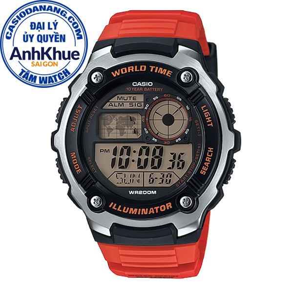 Đồng hồ nam dây nhựa Casio Standard chính hãng Anh Khuê AE-2100W-4AVDF (47mm)