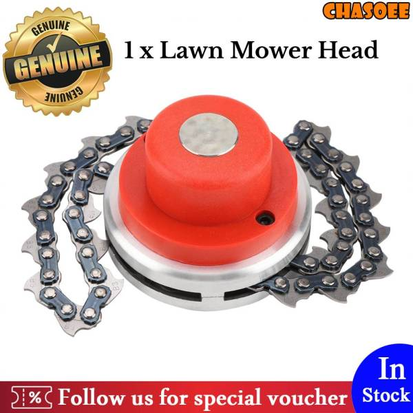 【Upgraded Version】65Mn Grass Trimmer Head Replacement Chain Part Accessory for Garden Lawn Brush Cutter