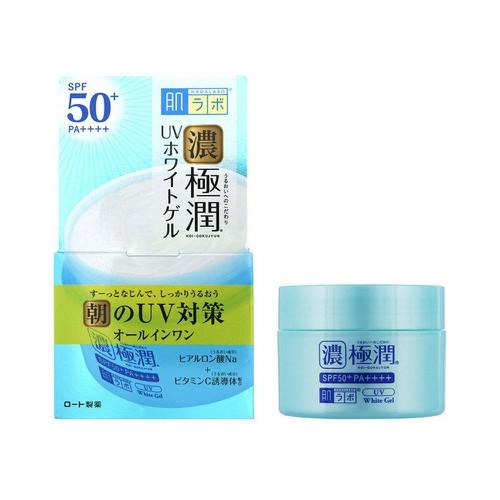 Gel dưỡng trắng da chống nắng Hadalabo 5 in 1 Koi-Gokujyun SPF50+ ...