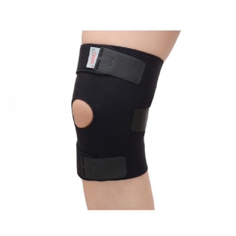 Băng thun gối Orbe H1 - Bảo vệ đầu gối phòng ngừa chấn thương - ORBE -11(Đen)