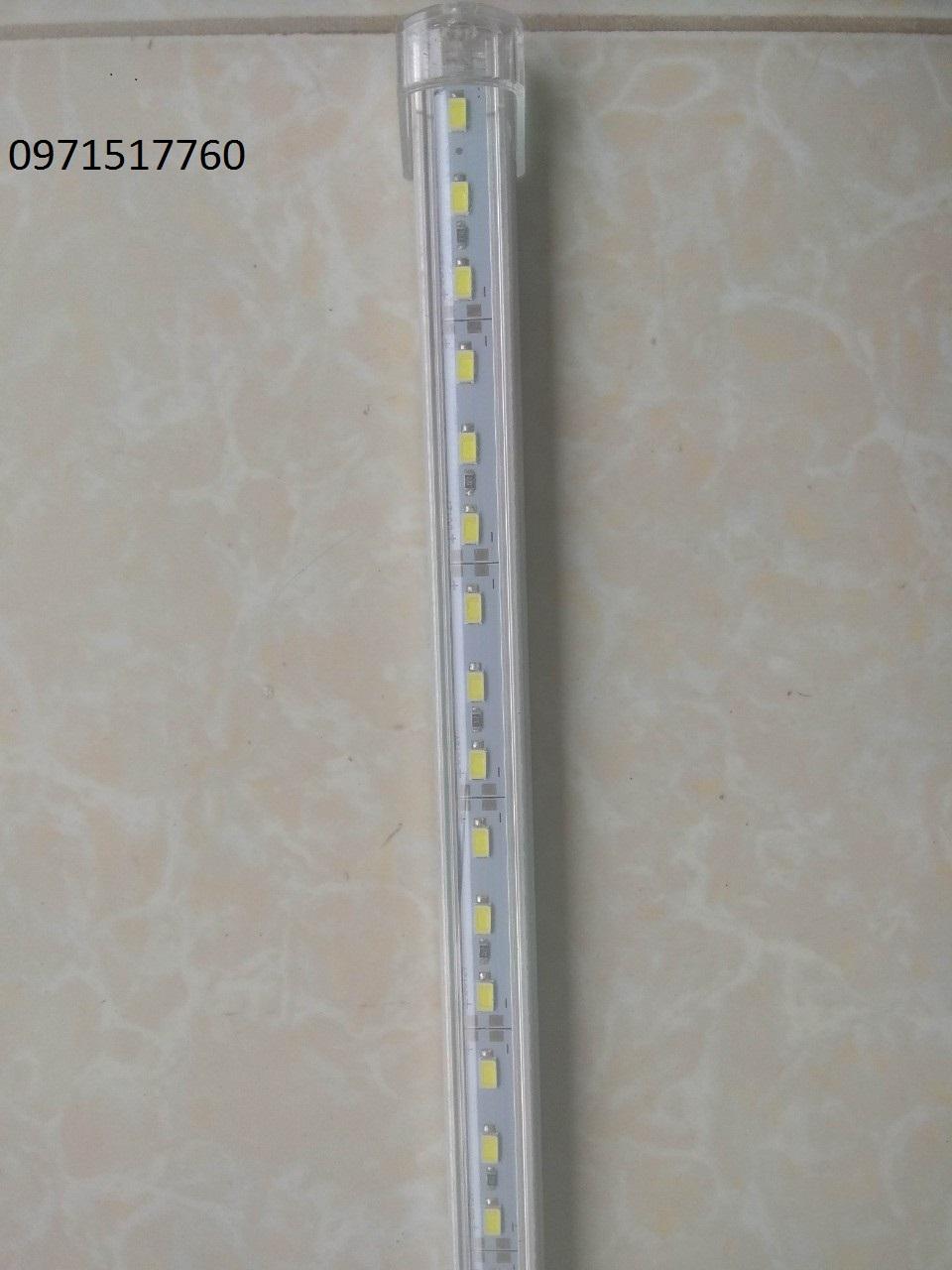 Led thanh 12V 24V siêu sáng kèm máng