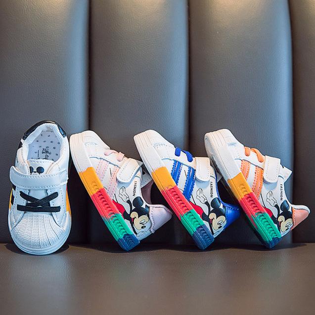 Giày trẻ em dáng thể thao phong cách Hàn Quốc giày cho bé trai bé gái từ 0-4 tuổi siêu nhẹ chống trơn trượt G24 giá rẻ