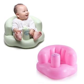 (CHỌN MÀU) Ghế hơi tập ngồi cho bé, ghế phao, ghế tập ngồi trẻ em, ghế hơi BABY, ghế ăn dặm thumbnail