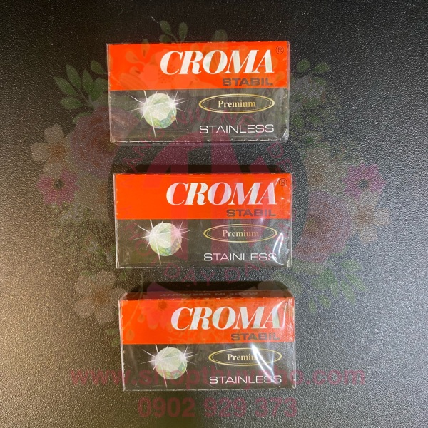 Lưỡi lam Croma - combo 10 hộp nhỏ giá rẻ