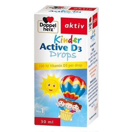 DOPPEL HERZ KINDER ACTIVE D3 DROPS cao cấp