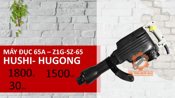 (hàng chính hãng) máy đục bê tông 30 ly Hugong 65A - Z1G-SZ-65 1800W