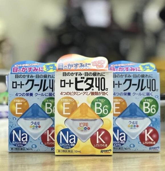 Nước Nhỏ Mắt Rohto Vita 40 Nhật Bản giá rẻ