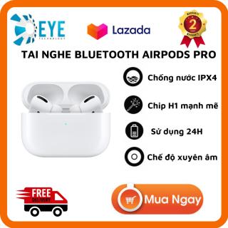 [Flash 50%] Tai Nghe Bluetooth AirPods Pro - Tai nghe Iphone True Wireless AirPods - Thiết Kế Đẳng cấp - Sử Dụng Cảm Ứng Đa Điểm Điều Khiển - Sử Dụng 24h - Tương thích Ios, Android- BH 2 năm - Lỗi 1 Đổi 1 thumbnail