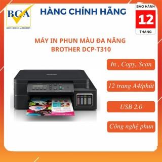 Máy in phun màu đa chức năng Brother DCP-T310 (In, Copy, Scan) thumbnail